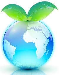 wereld groen